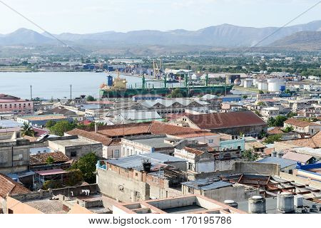 View To The Harbor Of Santiago De Cuba, Cuba