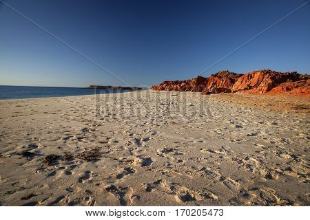 Beach at Dampier Peninsula  - Western Australia