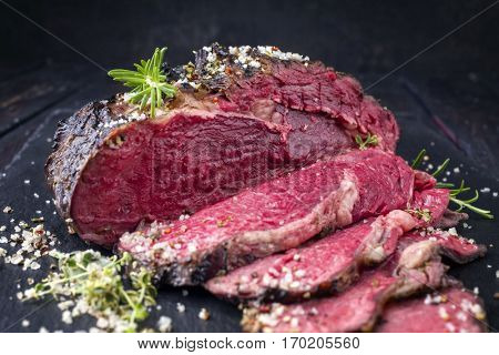 Barbecue Wagyu Entrecote Steak - Very Rare
