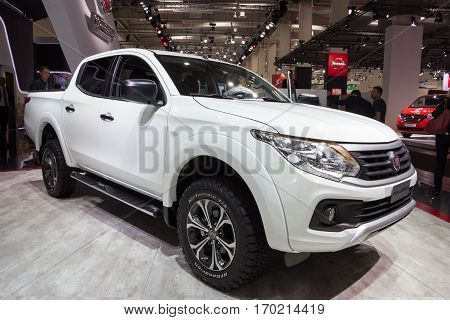 2017 Fiat Professional Fullback Extended Cab