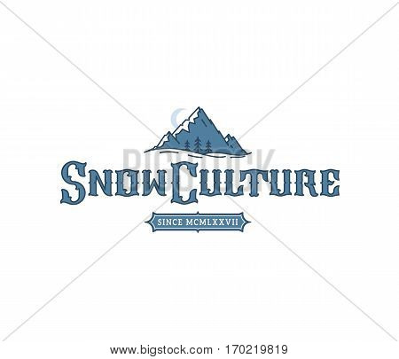 Vector winter sport snowboarding snow culture concept