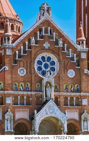 Fragment Of Church