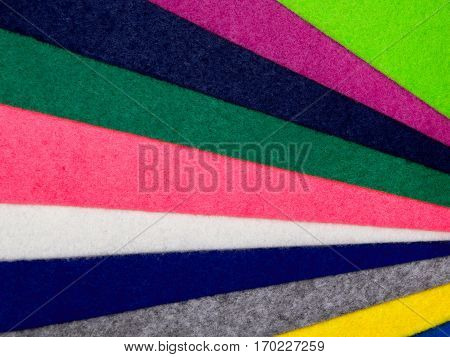 Colorful felt texture for background with, copys pace.
