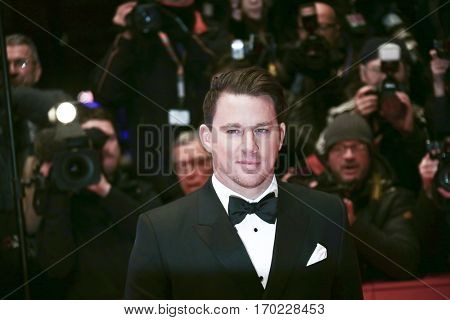 Channing Tatum attends the 'Hail, Caesar!' Premiere during the 66th Berlinale International Film Festival on February 11, 2016 in Berlin, Germany.