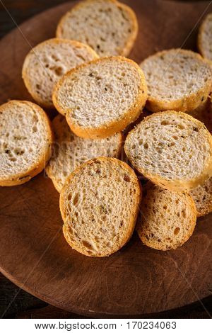 Heap Of Small Rusks
