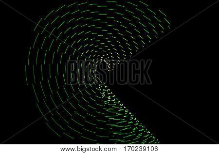 Light Painting. Abstract, Futuristic, Colorful Long Exposure, Black Background-49