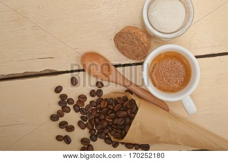 Espresso Coffee And Beans