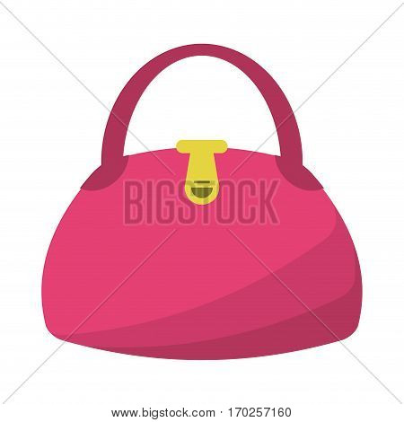 woman handbag fashion style vector illustration eps 10