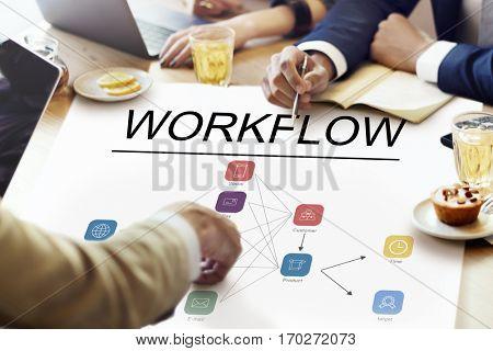 Progress Summary Work flow Business Icon