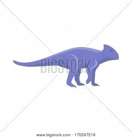 Dinosaur cartoon collection set. Cartoon dinosaurs cute monster funny animal. Comic dinosaurs kids game. Vector
