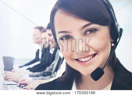 Call center operatotor