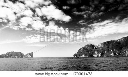 Unwelcoming Island Stormy Bay