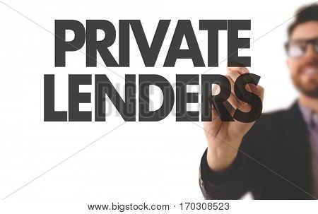 Private Lenders