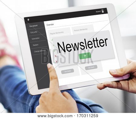 Newletter Join Us Sign Up