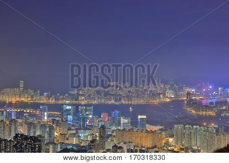 Fei Ngo Shan 2016 Night View