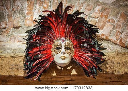 Right hand made Venetian mask