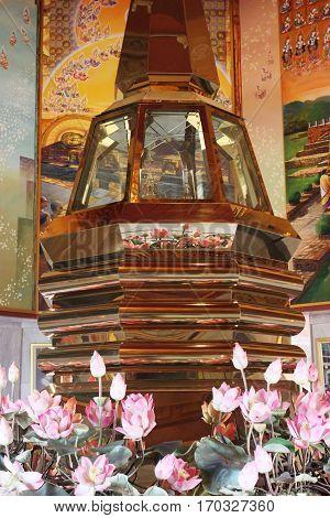 The Buddha Relics Stupa is sacred .