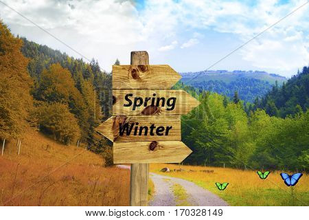 end of the winter, comes the spring