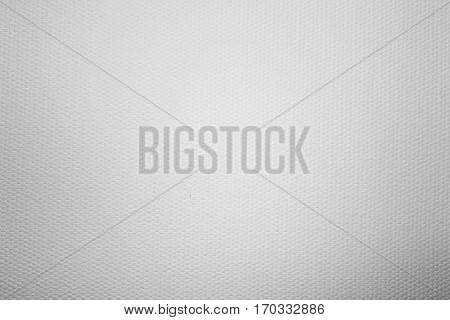 White fabric texture background. Canvas for oil painting texture closeup for design