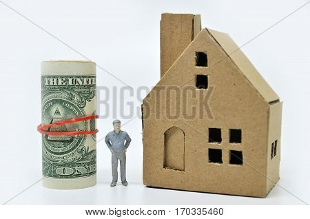Man With Money And Home