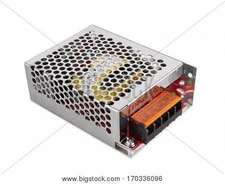 Power Supply isolated on white background