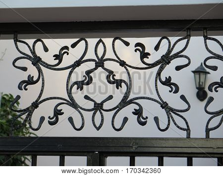 Ornate Iron Work