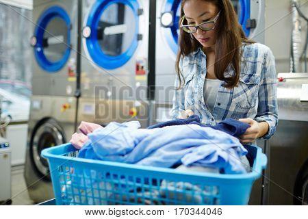 Work of laundress