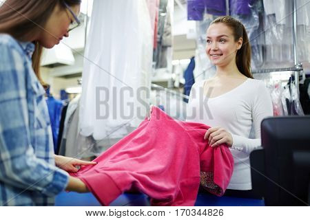 Dry-cleaning service