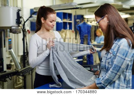 Pullover for dry cleaning