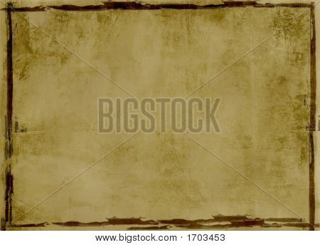 Grunge, Bordered Background