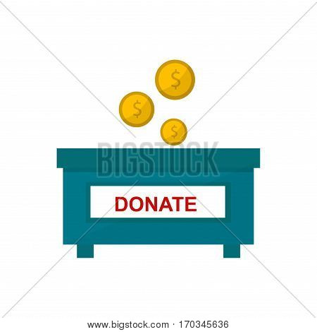 Savings money box coins isolated on white background. Jar for savings full of bank saving financial dollar investment container deposit earn economic.
