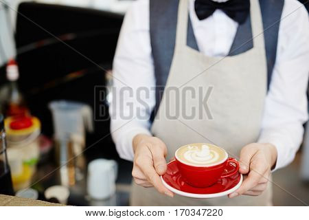Here is your coffee