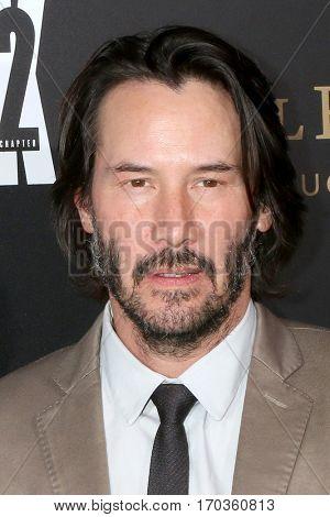 LOS ANGELES - JAN 30:  Keanu Reeves at the