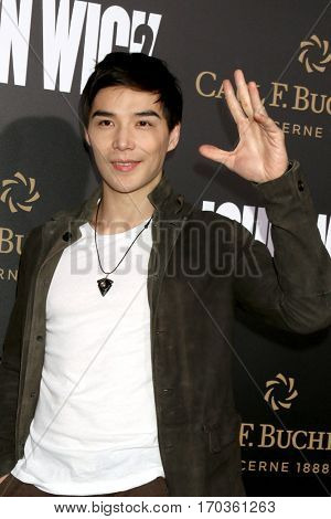 LOS ANGELES - JAN 30:  Ludi Lin at the