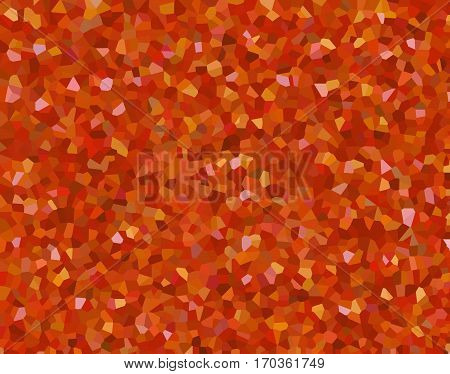 Kaleidoscope homescreen wallpaper orange light background bumpy diamond grit