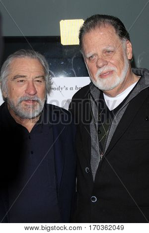 LOS ANGELES - JAN 27:  Robert De Niro, Taylor Hackford at the