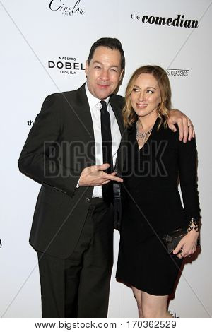 LOS ANGELES - JAN 27:  French Stewart, Vanessa Claire Stewart at the