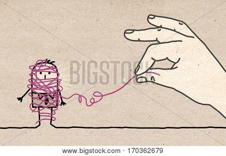 Big hand - untangling