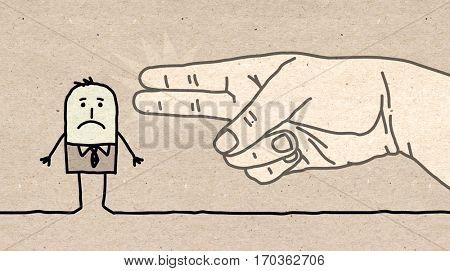 Big hand - gun sign