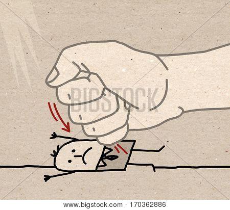 Big Hand - under pressure