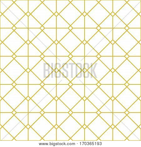 Line seamless background. Geometric ornament for elegant design in retro style. Universal pattern for wallpapers textiles fabrics wrapping papers packaging boxes etc