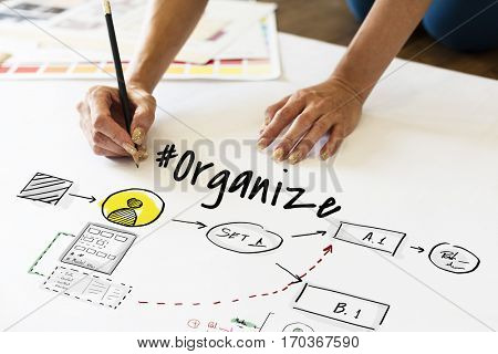 Application Analysis Organize Business Graphics