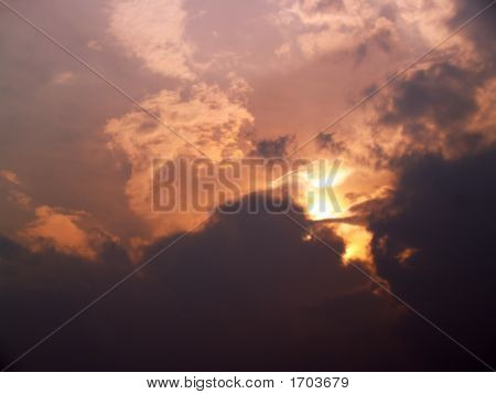 Strange Cloud Formations, Pentecost Sunset