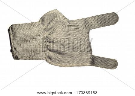 Work Glove Isolated On White