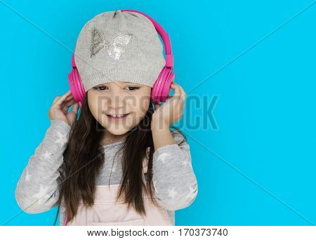 Studio People Kid Shoot Schooler Listening Music