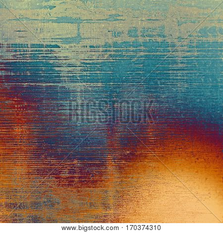 Designed grunge texture or retro background. With different color patterns: yellow (beige); brown; gray; blue; red (orange); purple (violet)