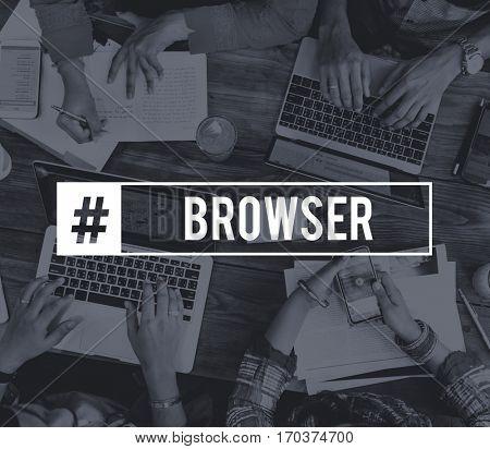 Amusement Browser Techie Wifi Cloud