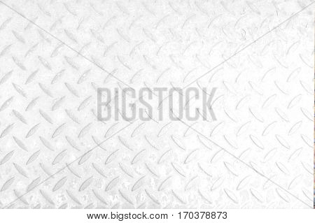 Close-up industrial metal background texture. Stell plate metallic template. Background of white metal. Checkered steel plates background. Metal floor texture. Patterned steel. Table of steel sheet.