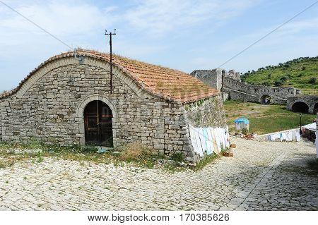 Handicraft To Sell On The Citadel Of Kala At Berat