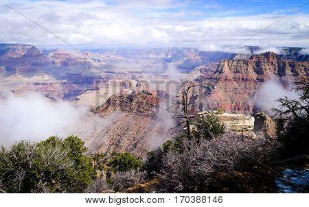 The Grand Canyon during day, Grand Canyon National Park, Arizona